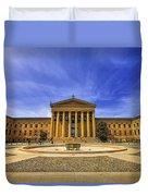 Philadelphia Art Museum Duvet Cover
