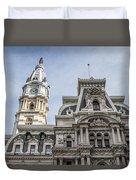 Philadelphia City Hall #2 Duvet Cover