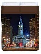 Philadelphia Downtown Duvet Cover