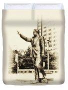 Philadelphia Mayor - Frank Rizzo Duvet Cover
