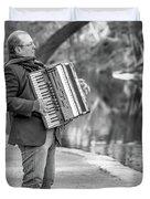 Philadelphia Music Man Bnw Duvet Cover