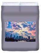 Philadelphia Sky Duvet Cover