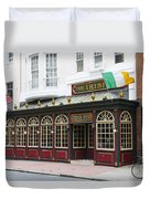 Philadelphia's Famous Irish Pub Duvet Cover