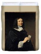 Philippe De Champaigne    Jean Baptiste Colbert 16191683 Duvet Cover