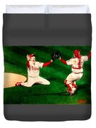 Phillies Win The World Series Duvet Cover