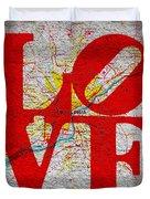 Philly Love V1 Duvet Cover