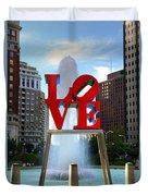 Philly Love Duvet Cover