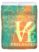 Philly Love V10 Duvet Cover