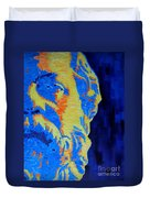 Philosopher - Socrates 3 Duvet Cover
