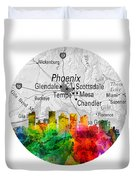 Phoenix Arizona 12rd Duvet Cover