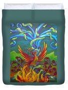 Phoenix Bird Duvet Cover
