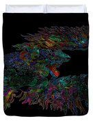 Phoenix Rising Galaxy Duvet Cover