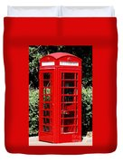 Phone Booth Duvet Cover