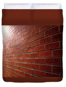 Photo Graphics - Brick Wall Eruption Duvet Cover