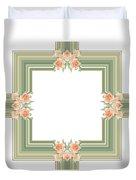 Photoart Orange Flowers-1 Duvet Cover