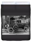 Photographer's 1928 Truck Duvet Cover