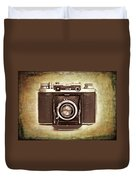 Photographer's Nostalgia Duvet Cover