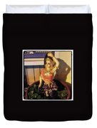 Phra Mae Thorani. Holy Mother Of Earth Duvet Cover