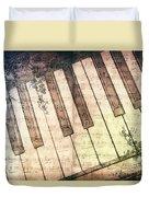 Piano Days Duvet Cover