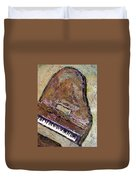Piano In Bronze Duvet Cover