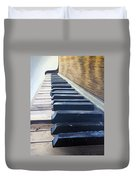 Piano Perspective Duvet Cover