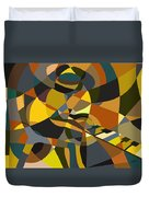 Pianoman Revisited Duvet Cover