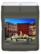 Piazza Navona 4 Duvet Cover