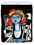 Picasso By Nora  Film Star Duvet Cover