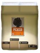 Picasso Poster Duvet Cover