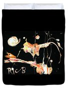 Picassos In Space Duvet Cover