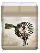 Piceance Basin Windmill Duvet Cover