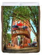 Pickel Barrel 2 Chattanooga Tennessee Cityscape Art Duvet Cover