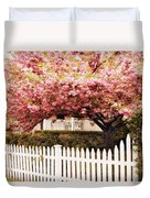 Picket Fence Charm Duvet Cover