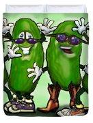 Pickle Party Duvet Cover