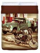 Pickup Bike  Duvet Cover