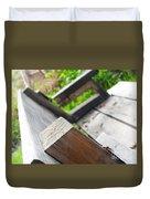 Picnic Bench Duvet Cover