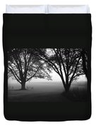 Picnic In The Fog Duvet Cover