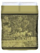 Picture Of Amish Boy In Book Duvet Cover