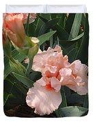 Picture Peach Duvet Cover