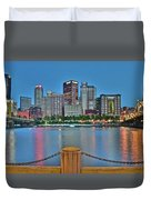 Picture Perfect Pittsburgh Duvet Cover
