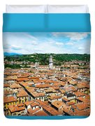 Picturesque Cityscape Of Verona Italy Duvet Cover