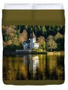 Picturesque Grundlsee Duvet Cover