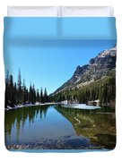 Picturesque Lake Duvet Cover