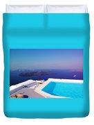 Piece Of Mediterranean Paradise Duvet Cover