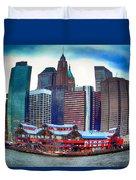 Pier 17 Ny Ny Duvet Cover
