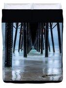 Pier Into The Ocean Duvet Cover