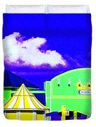 Pier Pileup Duvet Cover