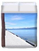 Pier Posted Duvet Cover