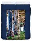Pier Pylons Balboa Duvet Cover