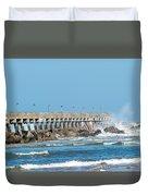 Pier Surf Duvet Cover